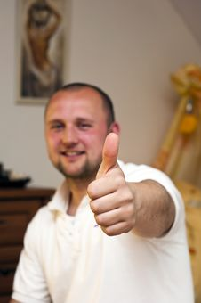 Free Thumbs Up Stock Photo - 14140370