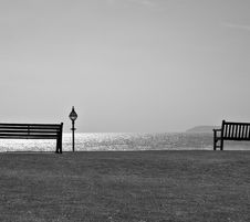 Free Park Benches Stock Image - 14140371