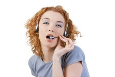 Free Call Center Royalty Free Stock Photography - 14140707
