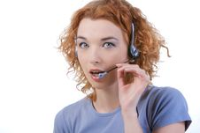Free Call Center Stock Photo - 14140730