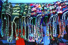 Knit Hats Stock Image