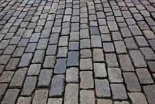 Free Cobblestone Road Royalty Free Stock Images - 14142149
