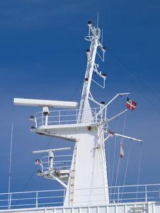 Free Ships Radar Stock Photo - 14142760