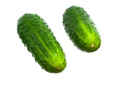 Free Two Cucumbers Stock Photos - 14143333