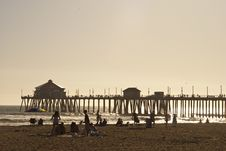 Free Huntigton Beach Pier 1 Of 4 Stock Photo - 14144730