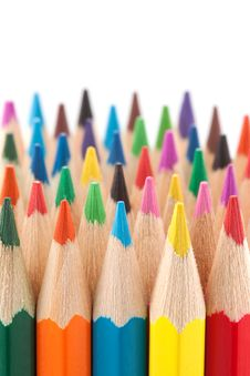 Free Many Colored Pencils. Stock Photo - 14144830