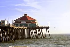 Free Huntigton Beach Pier 4 Of 4 Stock Photos - 14145913