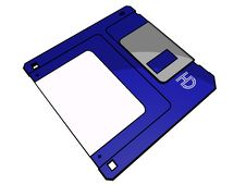 Free 3.5 Floppy Disk Royalty Free Stock Photography - 14145977