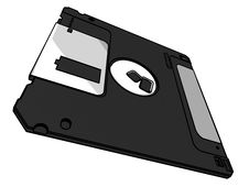 Free 3.5 Floppy Disk Stock Photography - 14146062
