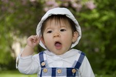 Free Cute Little Girl Royalty Free Stock Photo - 14146505