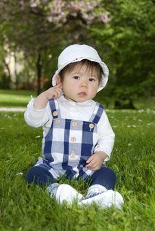 Free Cute Little Girl Stock Photo - 14146510