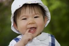 Free Cute Little Girl Stock Photography - 14146532