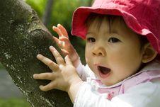 Free Cute Little Girl Stock Image - 14146571