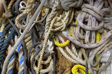 Free Sailing Line & Rope Royalty Free Stock Image - 14146876
