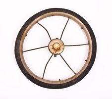 Free Old Bicycle Wheel Stock Photos - 14146903