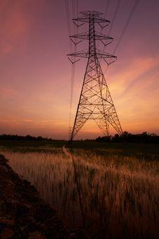 Free Energy Plant. Stock Image - 14147321