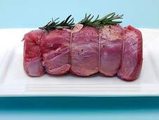 Raw Roast Veal Royalty Free Stock Image