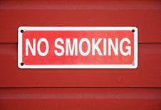 Free No Smoking Sign Stock Photo - 14147610