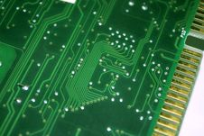 Electronic Board_ Royalty Free Stock Photo