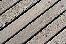 Boardwalk Wood Royalty Free Stock Images