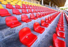Free Stadium Seats Royalty Free Stock Photography - 14147897