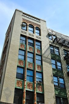 Free Ornate Prewar Building Stock Photo - 14148140