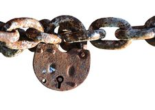 Free Padlock Rusty Royalty Free Stock Image - 14148376
