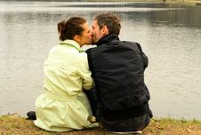 Free Kissing Couple Stock Photos - 14148423