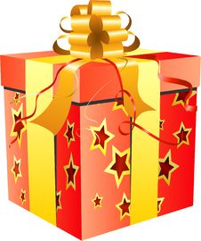 Free Red Gift Box Stock Images - 14148584