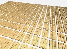 Warehouse Pallets. Stock Image