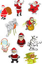 Free 10 Illustrations Of Santa Claus Stock Photography - 14150202