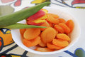 Free Yellow-red Tulip And Dried Apricots Stock Photos - 14158513