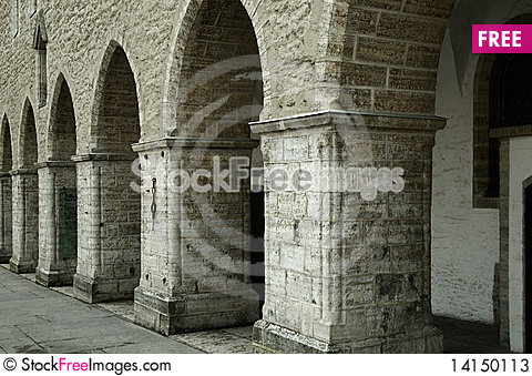 Free Architectural Arches Stock Photos - 14150113