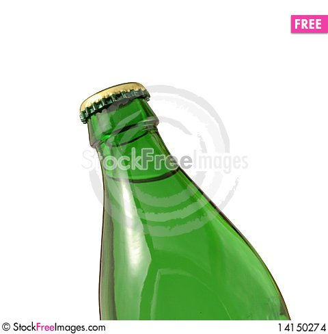 Free Bottle Green Water Stock Images - 14150274