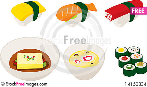 Free Japanese Food Stock Images - 14150334