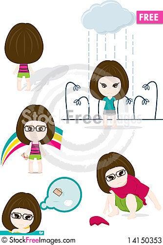 Free Cute Girl Stock Photos - 14150353
