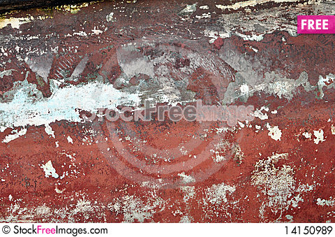 Free Red Rust On Tug Boat Royalty Free Stock Images - 14150989