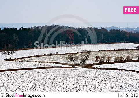 Free Landscape At Winter Stock Photography - 14151012