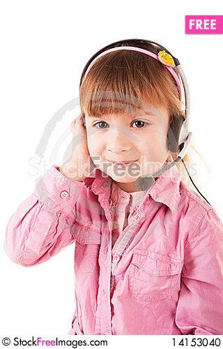 Free Litle Girl Stock Photo - 14153040