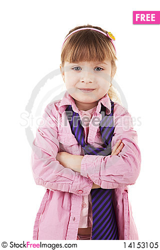 Free Litle Girl Royalty Free Stock Photo - 14153105