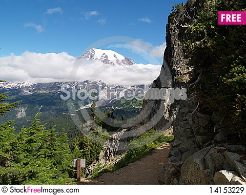 Free Trails End Royalty Free Stock Images - 14153229