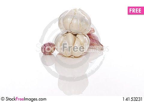 Free Garlic And Shallots Stock Image - 14153231