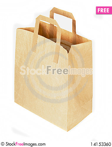 Free Paper Bag Stock Photo - 14153360
