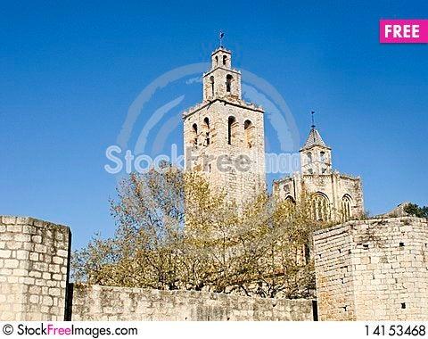 Free Monastery In Catalonia Royalty Free Stock Photos - 14153468