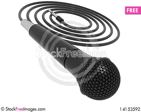 Free Microphone Stock Photography - 14153592