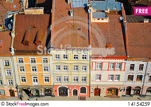 Free Old Houses Royalty Free Stock Images - 14154259