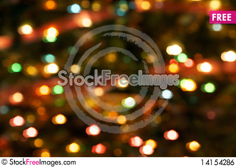 Free Abstract Lights Blur Background Royalty Free Stock Image - 14154286