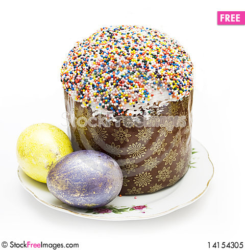 Free Easter And Eggs Royalty Free Stock Photo - 14154305