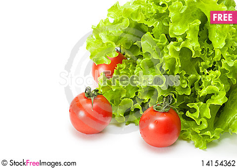 Free Tomato And Salad Stock Photography - 14154362