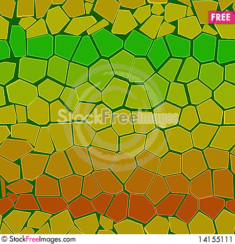 Free Abstract Colourful Background From Bricks Stock Image - 14155111